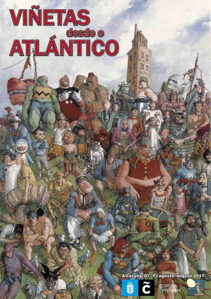 Viñetas desde o Atlántico 2017.