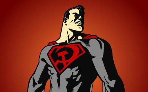 Superman comunista hijo rojo