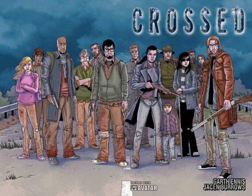 Crossed: galería de personajes