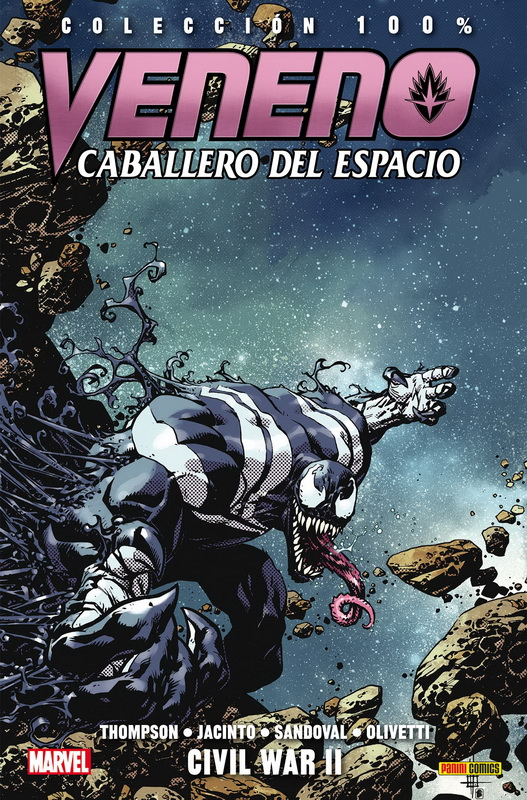 Veneno: Caballero del Espacio 2. Civil War II