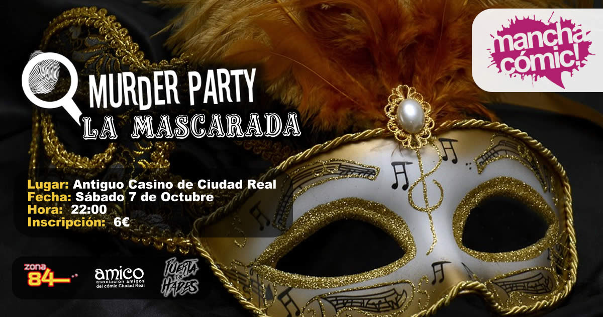 Manchacómic 2017- Mascarada