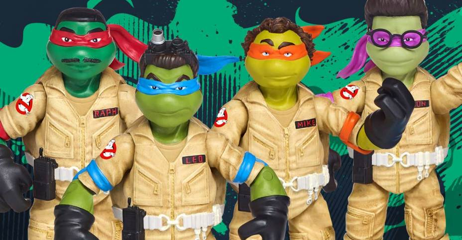 Cazafantasmas & Tortugas Ninja 5
