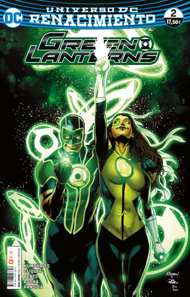 Green Lanterns nº2 (Renacimiento)