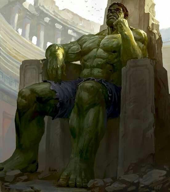 Planeta Hulk trono