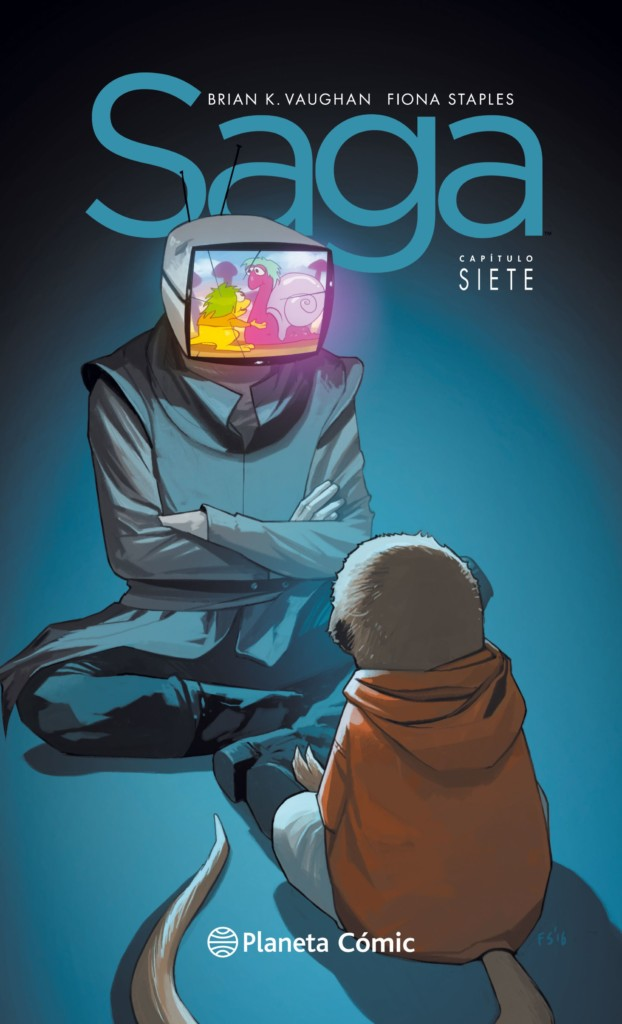 Reseña: Saga 7, de Vaughan & Staples