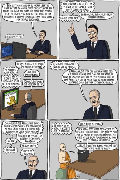 comics existenciales soporte tecnico 2