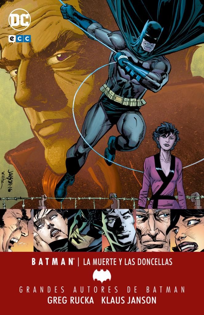 Grandes Autores de Batman: Greg Rucka – La Muerte y las Doncellas