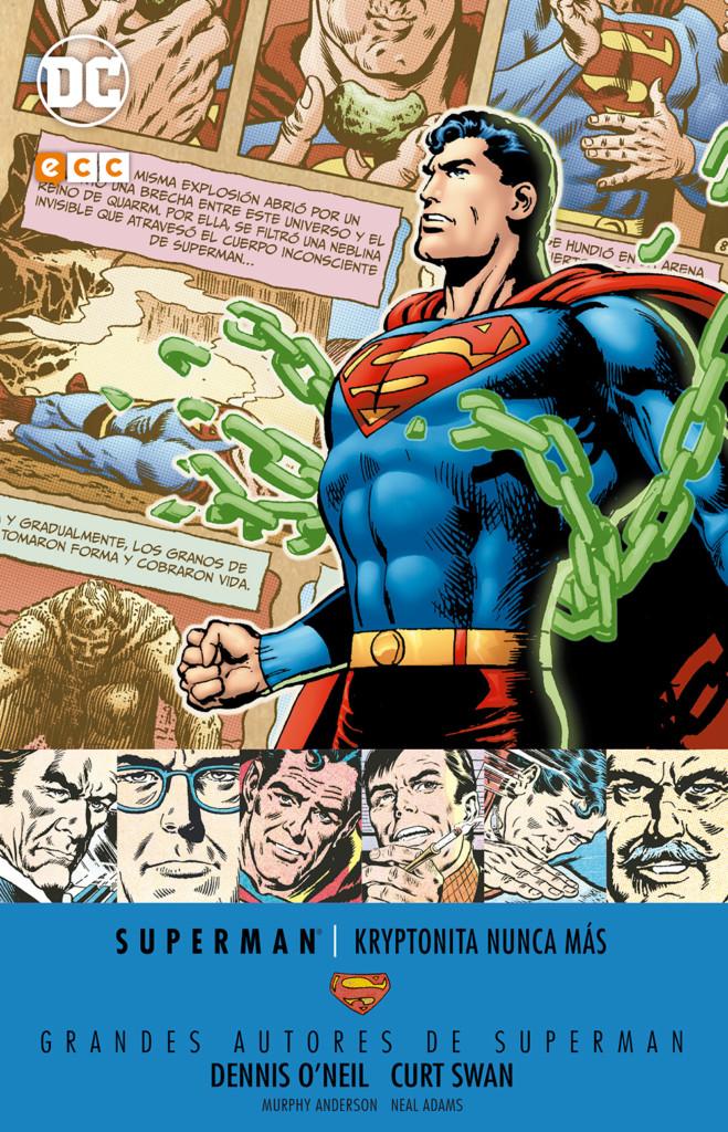 Reseña de Grandes Autores de Superman: Kryptonita nunca más