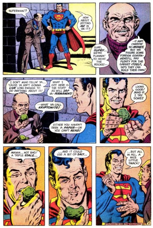 Kryptonita nunca más