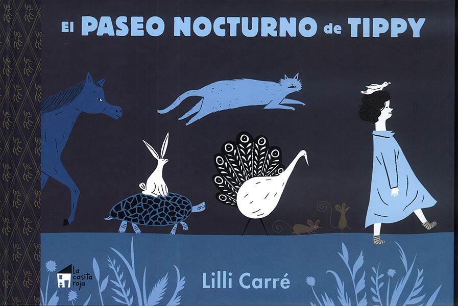 Reseña: El paseo nocturno de Tippy, de Lilli Carré.