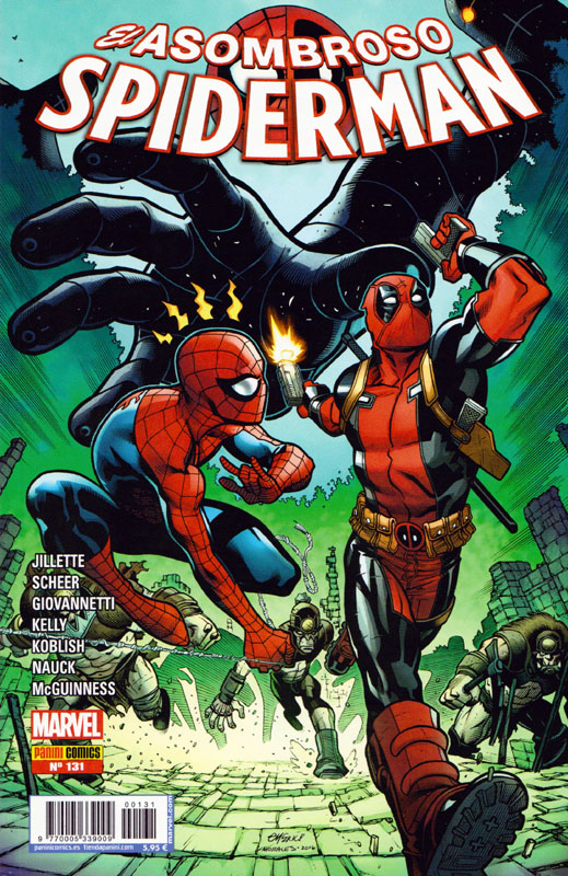 Asombroso Spiderman 131: Spiderman / Masacre 4