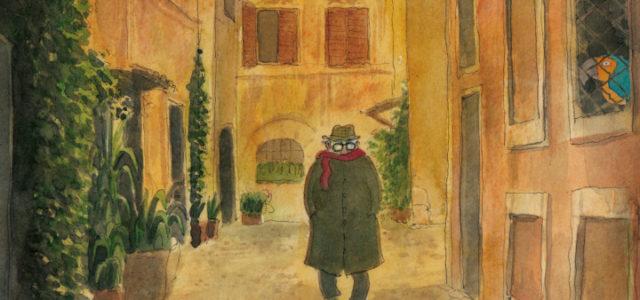 Fellini en Roma, de Tyto Alba.