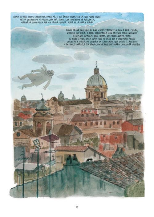 Fellini en Roma