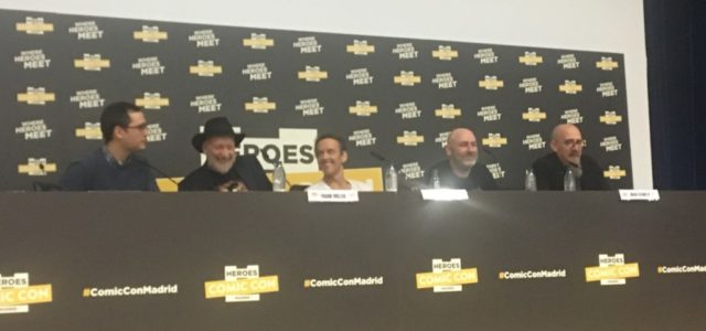 Charla de Frank Miller, Bill Sienkiewicz y Brian Azzarello en HCC 2017