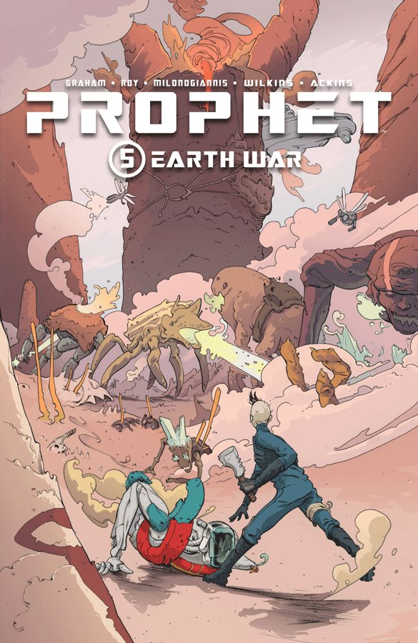 Prophet vol.5 Guerra en la tierra portada