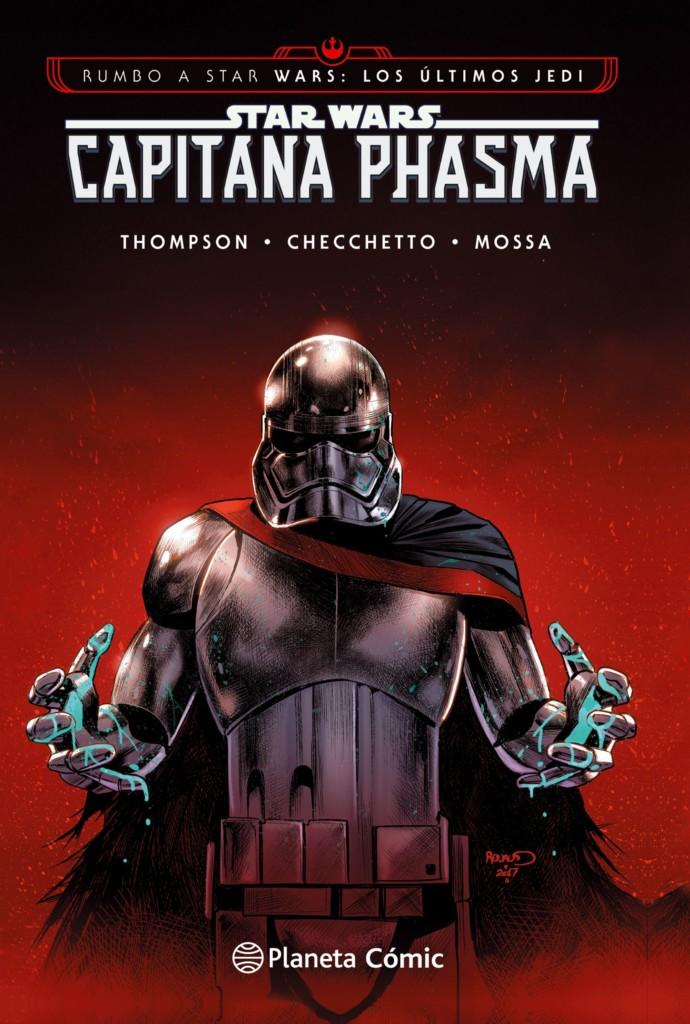 Capitana Phasma portada
