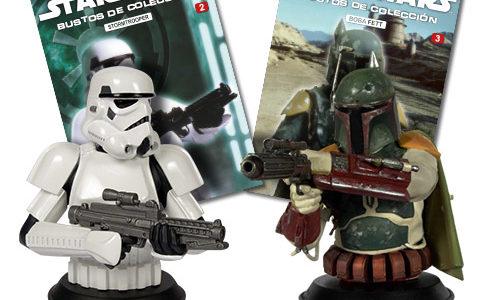 Bustos de Star Wars.