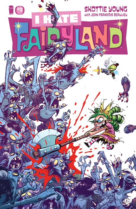 I hate Fairyland: Loca para siempre 2
