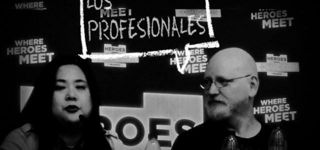 Los Profesionales: Arthur Adams y Joyce Chin