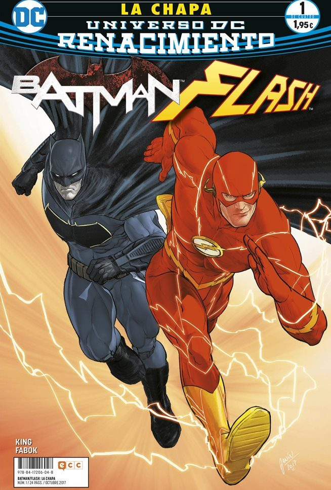Batman/Flash: La chapa nº1-4