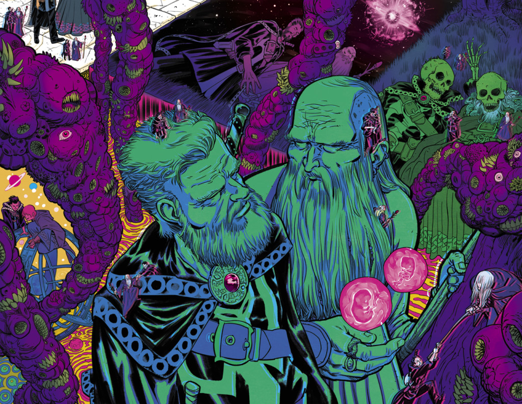 Doctor Extraño y los hechiceros supremos
