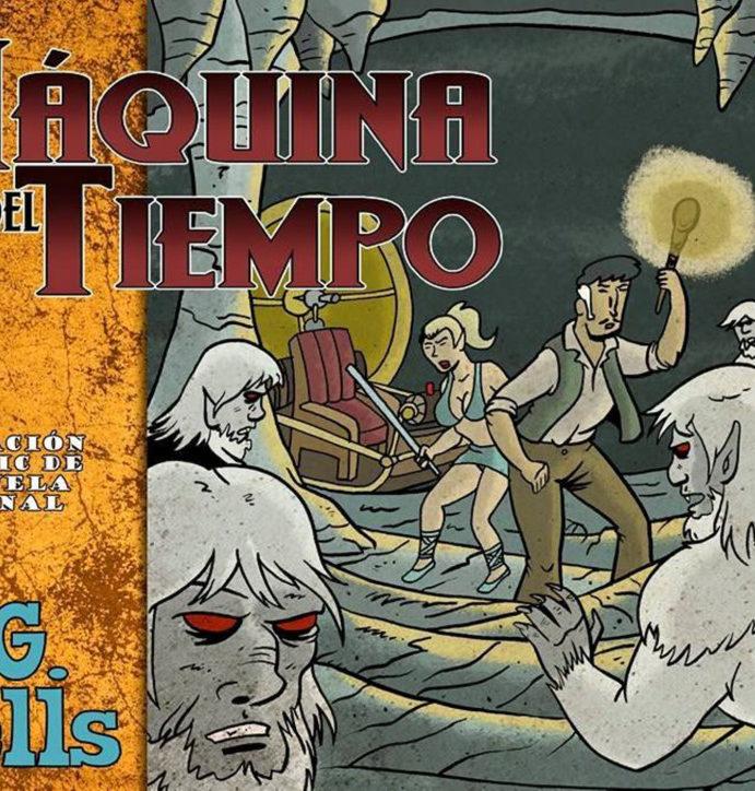 La Máquina del Tiempo, antología de 34 autores.
