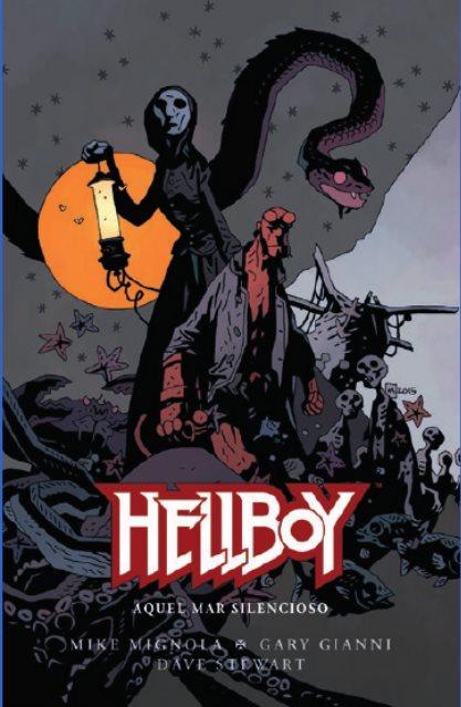 Hellboy: Aquel mar silencioso portada