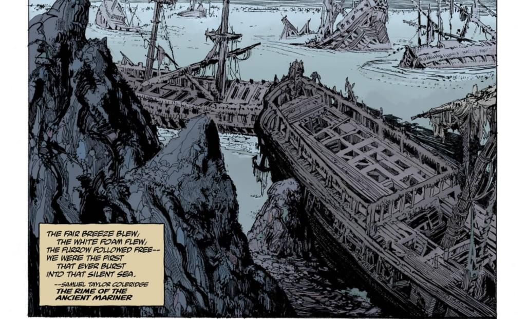 Hellboy: Aquel mar silencioso