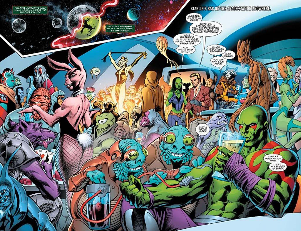 OGN. Guardianes de la Galaxia. Madre entropía
