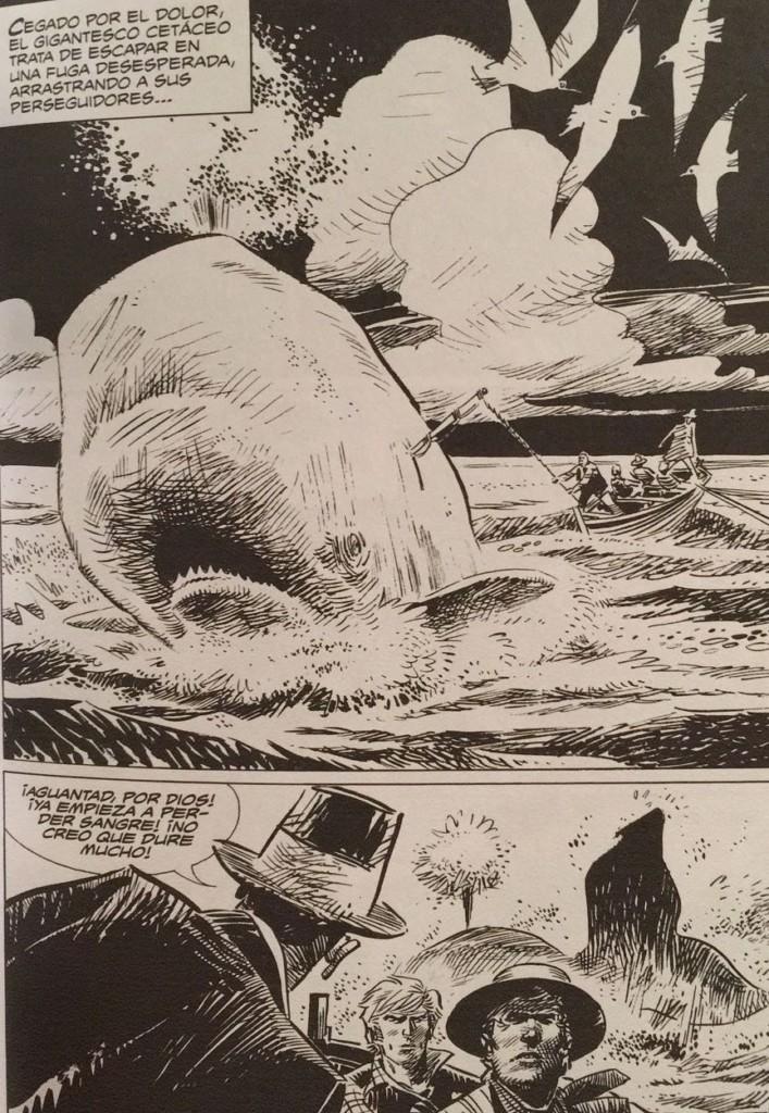 Ken Parker 5 whale