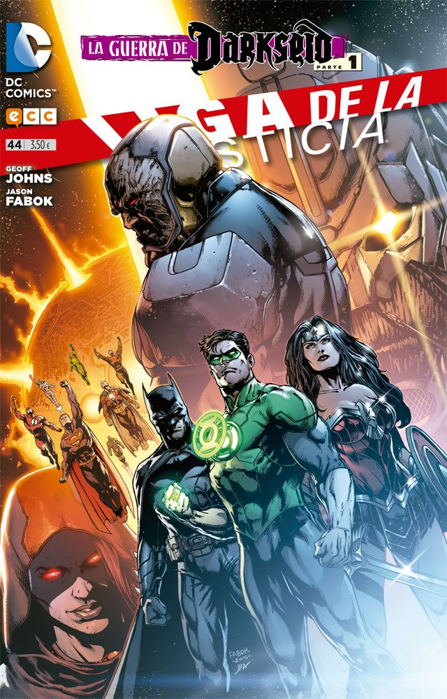 Liga de la Justicia: La guerra de Darkseid – Parte 1 Portada