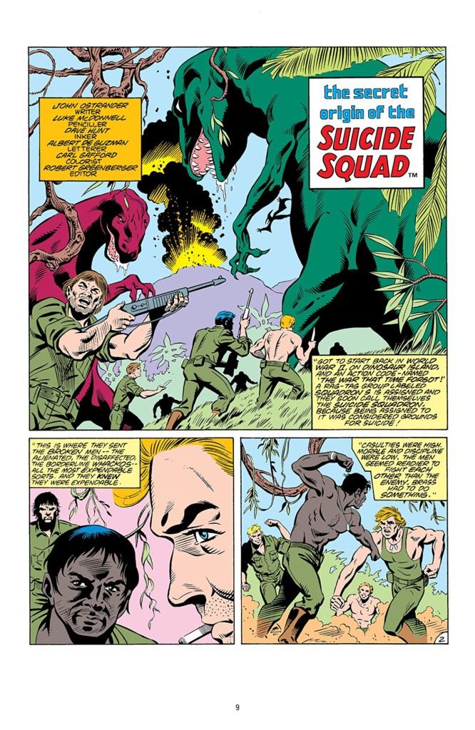 Escuadrón Suicida: Prueba de fuego