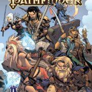 Pathfinder. Cómic y suplemento de rol.