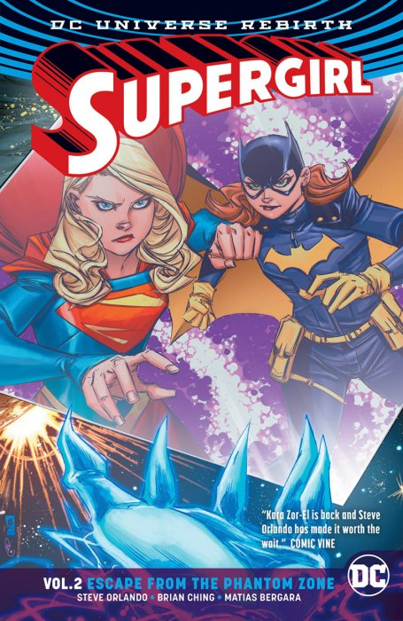 supergirl escape from the phantom zone zona fantasma