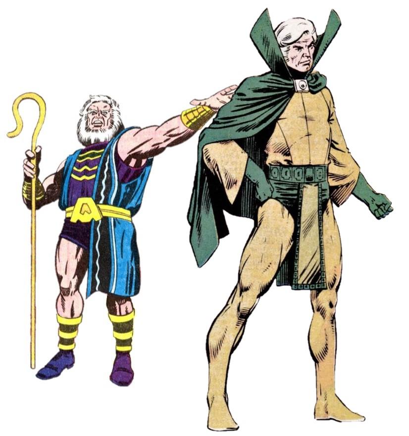 La saga de Thanos Cuarto Mundo