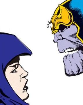 La saga de Thanos Lady Death