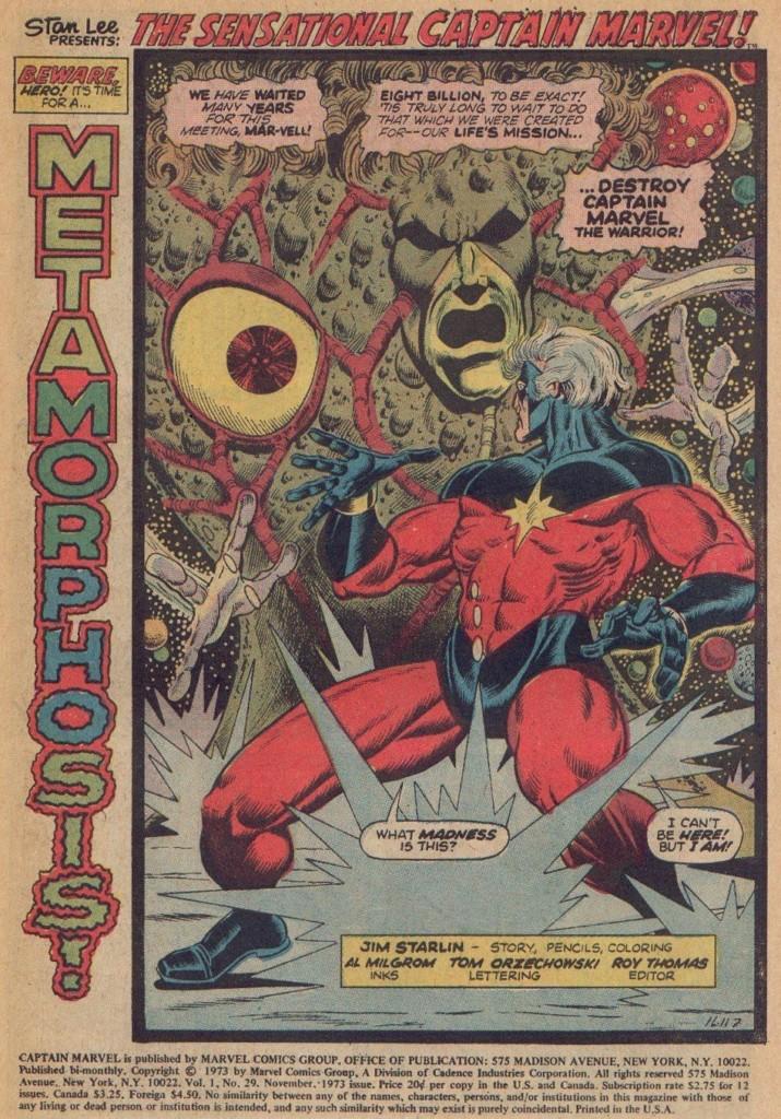 La saga de Thanos Metamorfosis