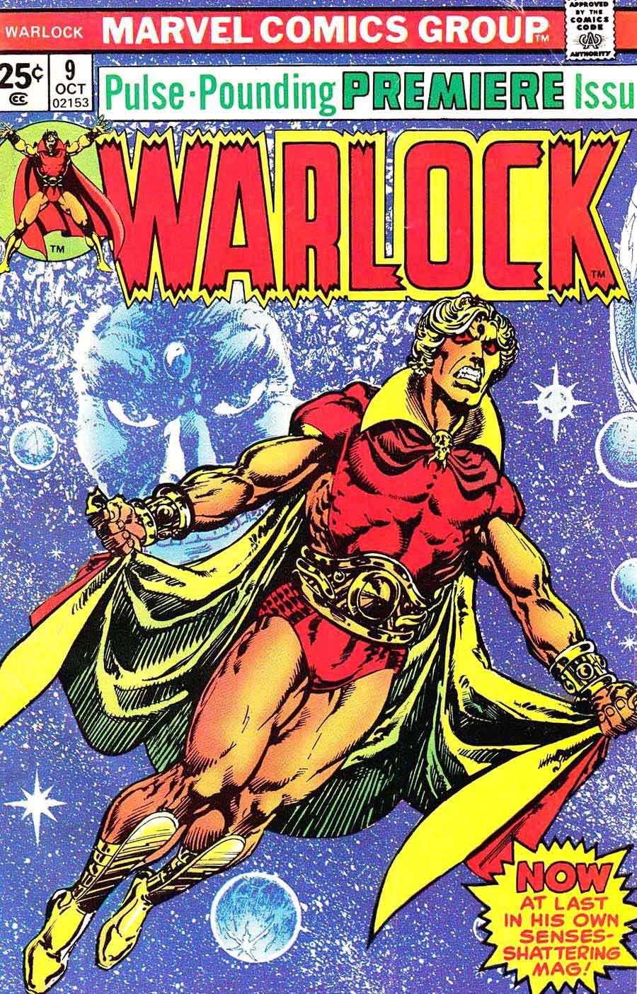 La saga de Thanos Warlock Magus