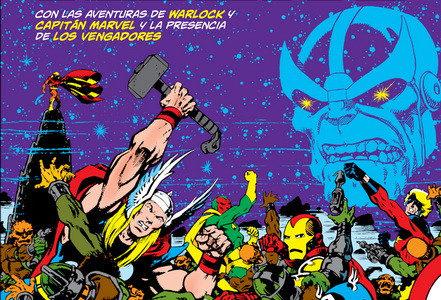 La saga de Thanos, de Jim Starlin