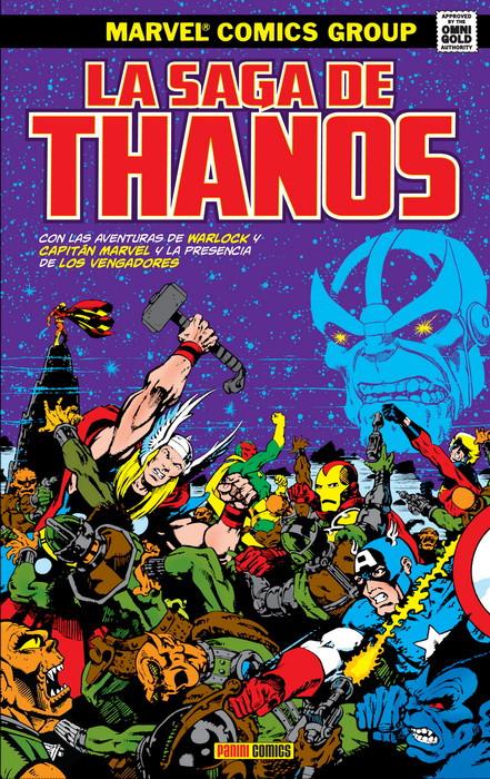 La saga de Thanos portada