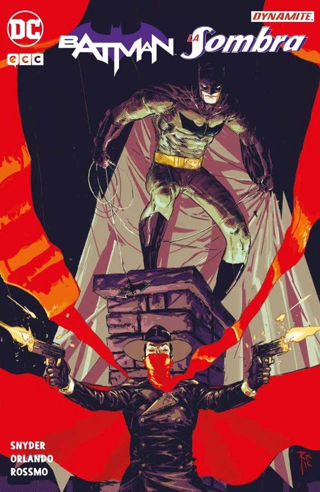 Batman/La Sombra portada