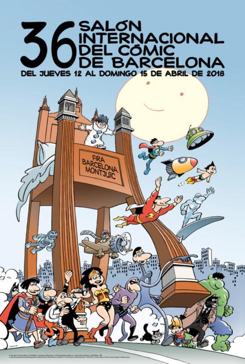 36 Salón Internacional del Cómic de Barcelona