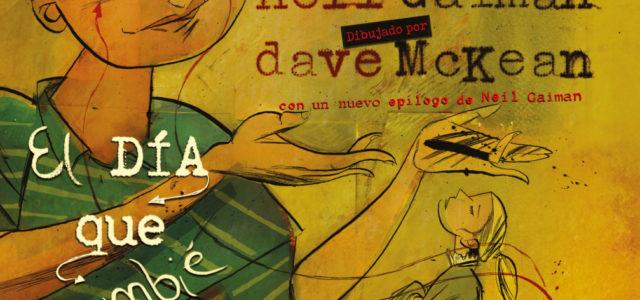 El día que cambié a mi papá por dos peces de colores, de Neil Gaiman y Dave McKean.