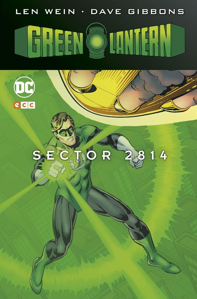 Green Lantern: Sector 2.814 portada