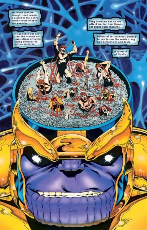 La búsqueda de Thanos