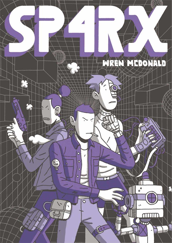 Sp4rx de Wren McDonald portada