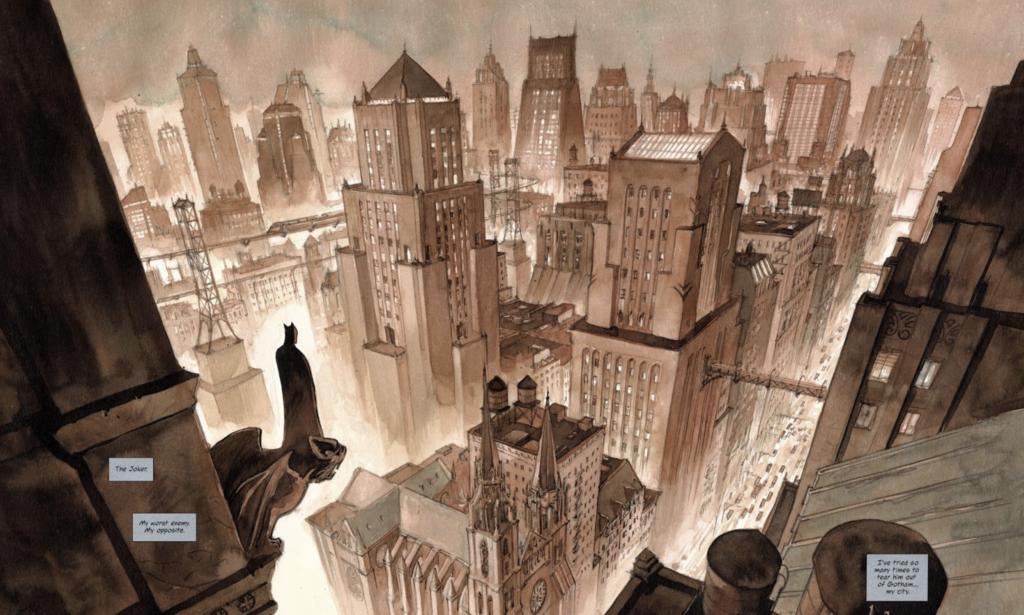 Batman: El príncipe oscuro skyline