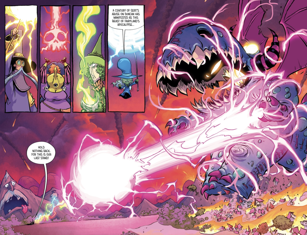 I hate Fairyland 2 arte Skottie Young