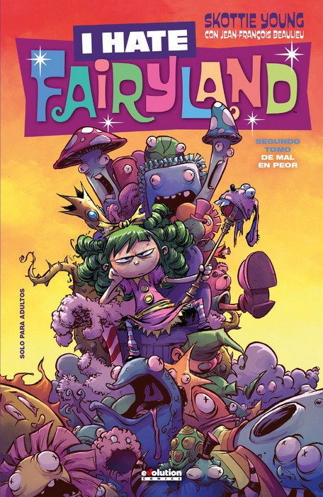 I hate Fairyland 2 portada