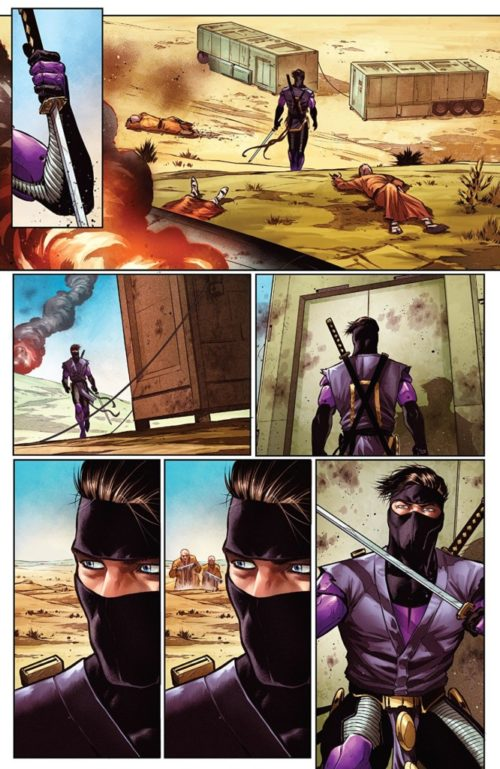 Las siete espadas del Maestro Darque